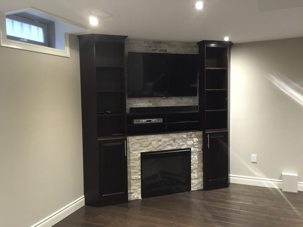 Hamilton Ontario Basement Renovation Project