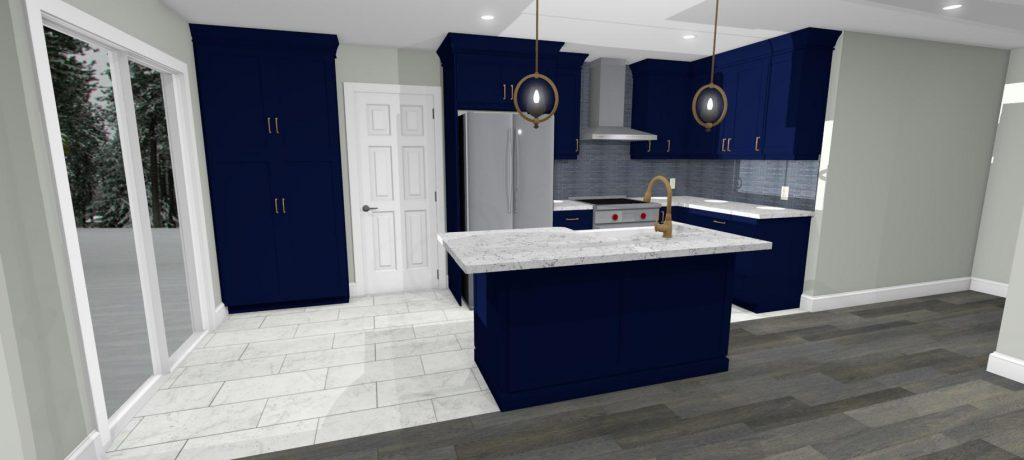 3D Design Basement Project in Grimsby, Ontario