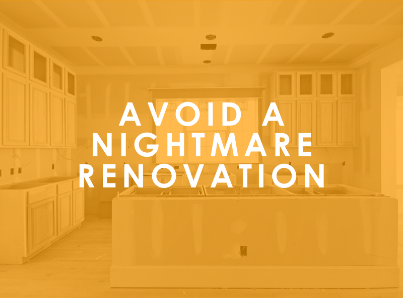 5 Home Renovation Mistakes To Avoid