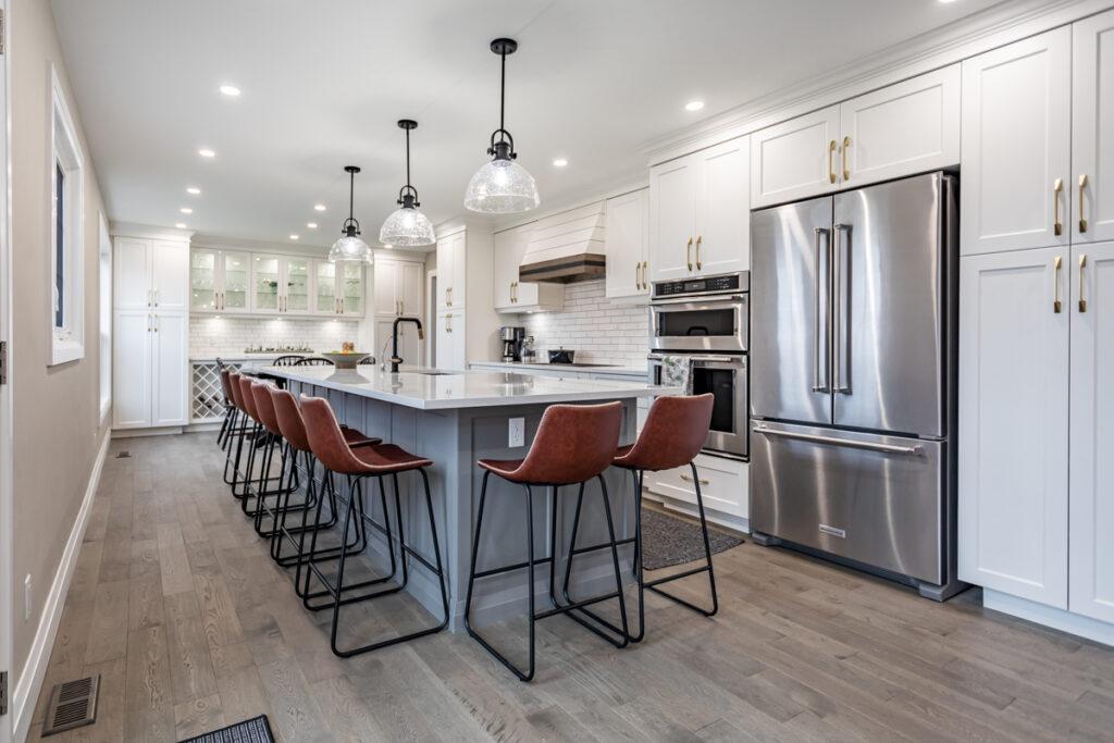 Custom Kitchen Renovation by Zzone Homes Inc